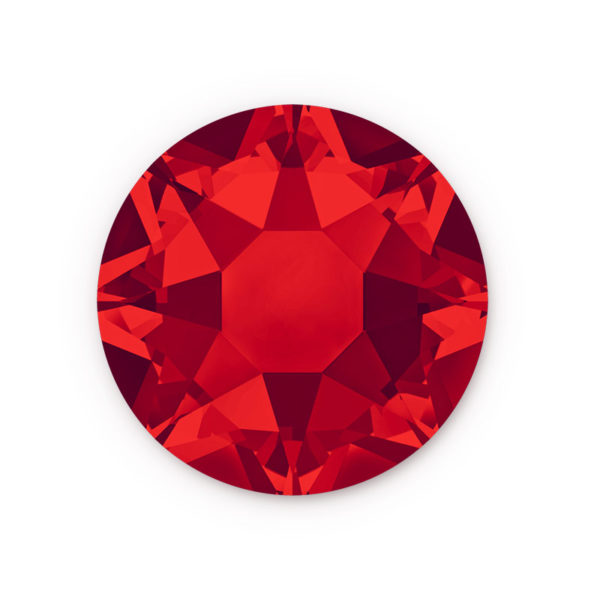 light red rhinestone