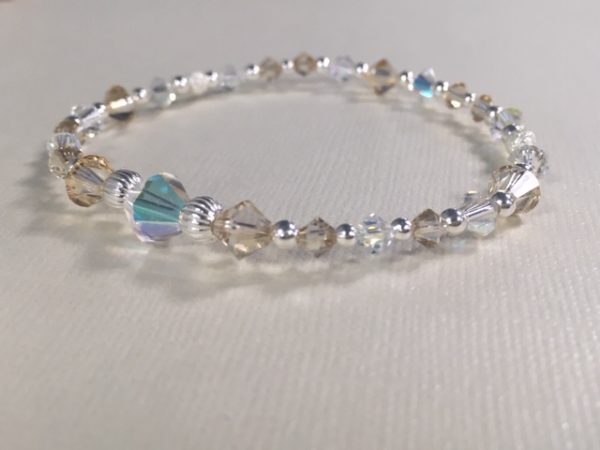 Competition Stage Jewellery -Swarovski Crystal & Sterling Silver