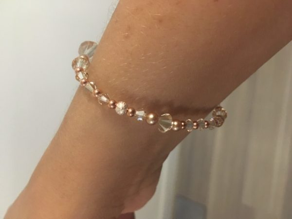 Competition Stage Jewellery - Swarovski Crystal & Rose Gold