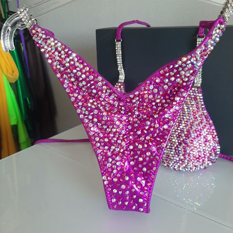 SECOND HAND COMPETITION BIKINIS (NEW, NEVER BEEN WORN)